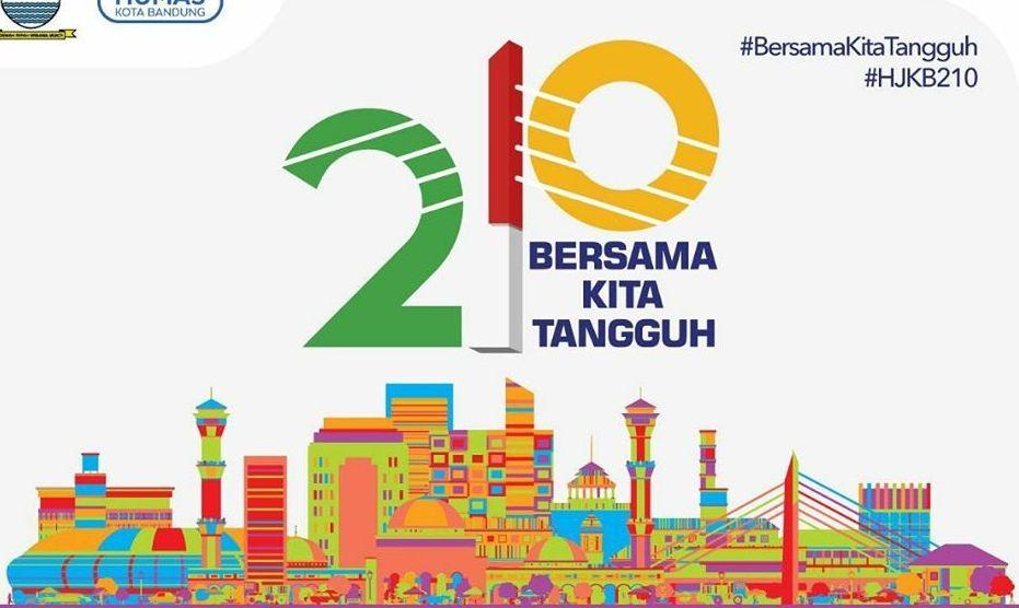 Hari Ini Kota Bandung Genap Berusia 210 Tahun, Ini Tema ...