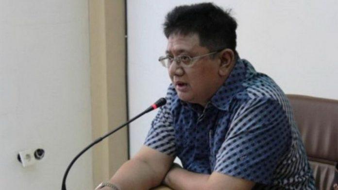 Ketua DPD Partai Demokrat Jawa Barat Irfan Suryanagara . (antara)