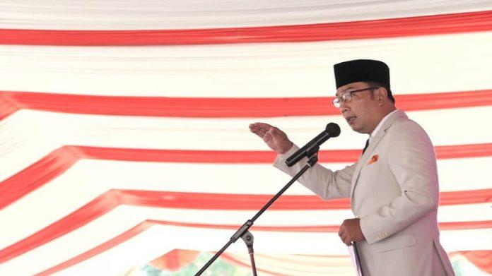 Gubernur Jabar, Ridwan Kamil. (Humas Jabar)