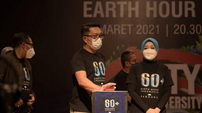 Global Switch Off Earth Hour. (Humas Jabar)
