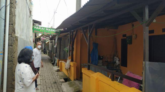 Kawasan di Kompleks Basis, Kelurahan Baros, Kecamatan Cimahi Tengah, Kota Cimahi