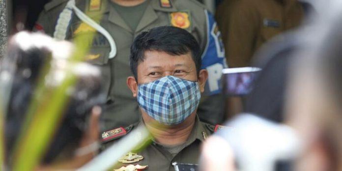 Kepala Bidang Penegakan Hukum Daerah Satpol PP Kota Bandung, Idris Kuswandi