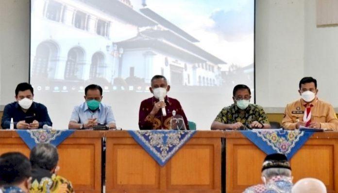Panitia Khusus (Pansus) I DPRD Provinsi Jawa Barat lakukan kunjungan lapangan Ke Kantor Cabang Dinas (KCD) Wilayah VII Kota Cimahi