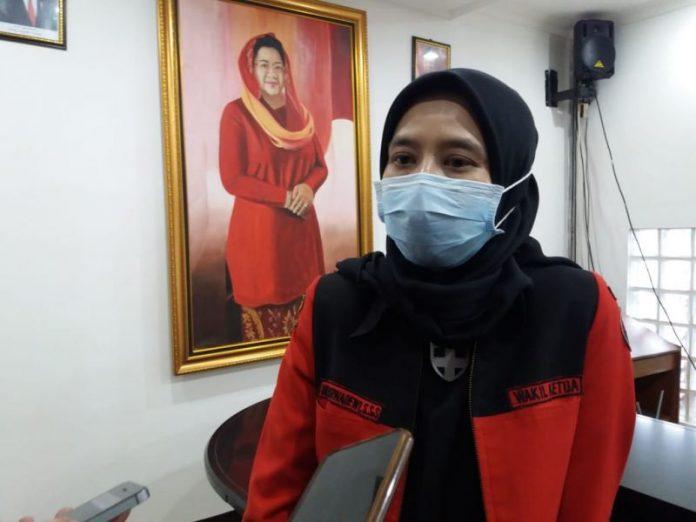 Anggota Komisi I DPRD Jabar Weni Dwi Aprianti, S.Ab