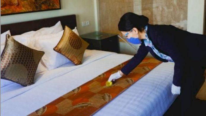 Ilustrasi kamar hotel di Bandung yang dipergunakan fasilitas perawatan pasien Covid-19. (idn times)