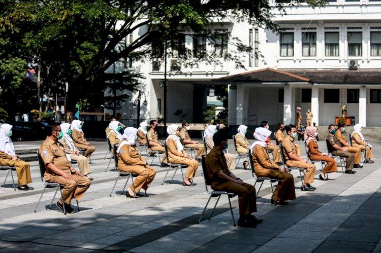Sepanjang Bulan Juni, Pegawai Pemkot Bandung Positif Covid-19 Tercatat 772 Orang