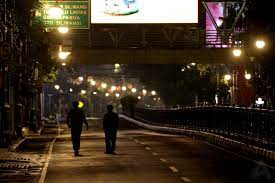 Suasana Bandung Malam Hari. (Foto : Riandy Hidayat)