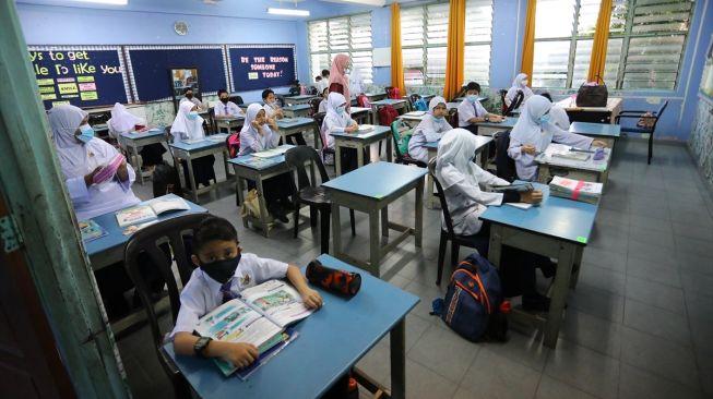 Simulasi Pembelajaran. (Foto : Rusdy - BeritaBandung.id)